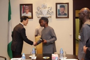 Vice Pres. Osinbajo Meets With Chinese Ambassador In Abuja [See Photos]